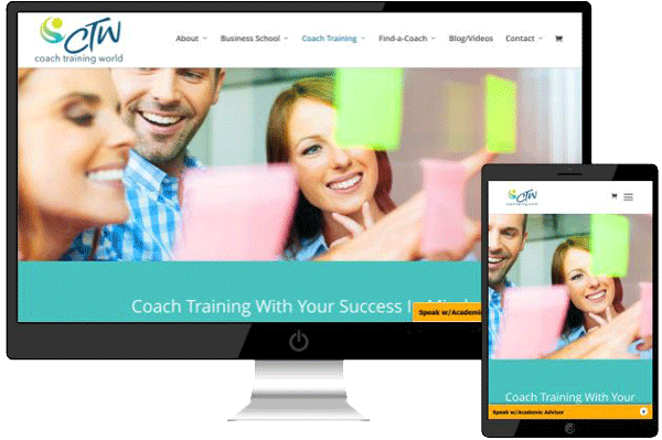 Screen Shot of Coach Training World